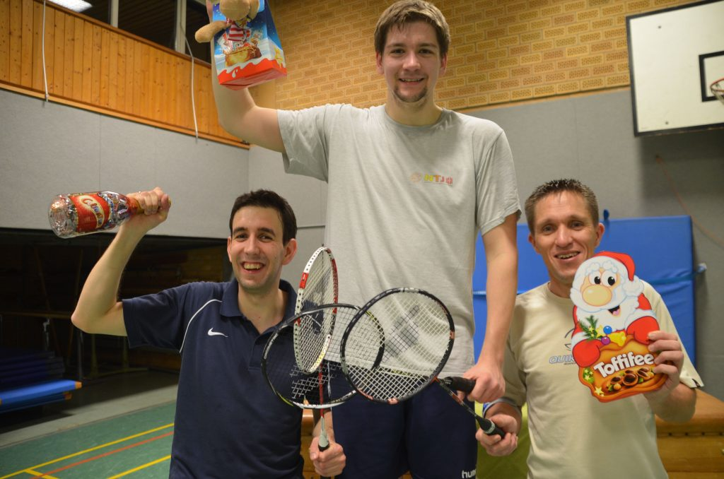 Aufs Siegertreppchen kamen neben Alex Bick außerdem die Hillerser Tobias Ronsdorf und Mirko Peterle.